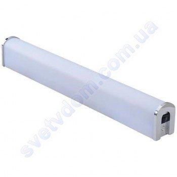 Світильник над дзеркалом світлодіодний LED Horoz Electric TOYGAR-12 12W 4200K хром (для дзеркал тощо) 040-013-0012