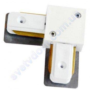 Конектор (з'єднання) L Connector кутовий для шинопровода до світильника трековому Horoz Electric 096-002-0002