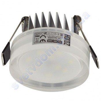 Світильник точковий світлодіодний LED Horoz Electric VALERIA-5 5W 4200K білий 016-040-0005