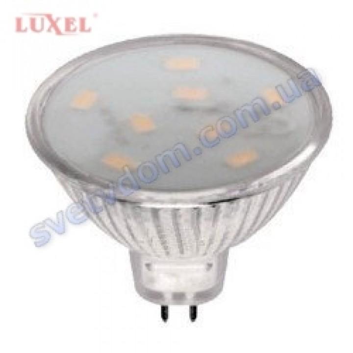 Лампа світлодіодна LUXEL LED 010-H 3W (аналог 25Вт) MR16 3000K GU5.3
