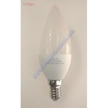 Лампа світлодіодна LUXEL LED 044-NE 4W (аналог 35Вт) C37 4000K E14 ECO