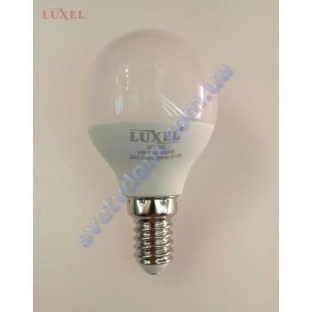 Лампа світлодіодна LUXEL LED 055-NE 4W (аналог 35Вт) G45 4000K E14 ECO