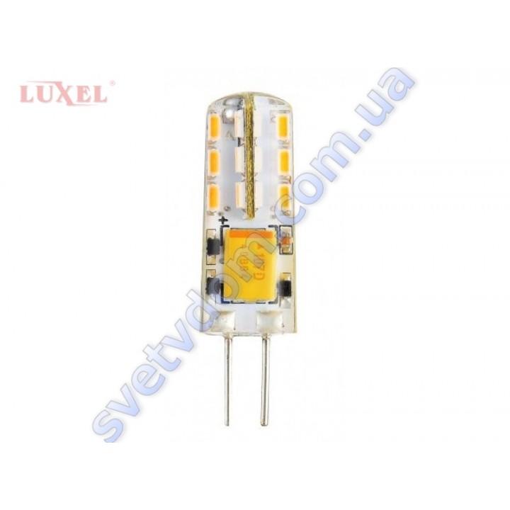 Лампа светодиодная LUXEL LED G4-1.5-N 1,5W (аналог 15Вт) G4 (12V) 4000K