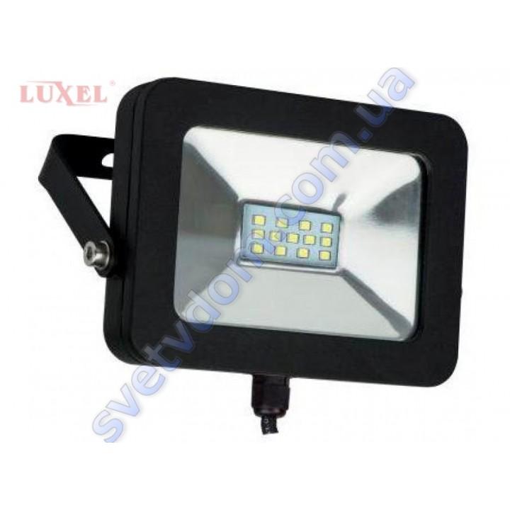 Прожектор светодиодный LED Luxel LPE-10С 10W 6500K