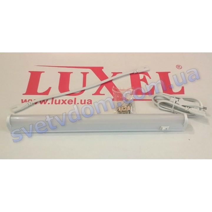 Світильник світлодіодний лінійний настінно-стельовий LED Luxel LX2001-0.6-8C 8W 6000K (аналог T5 G13)