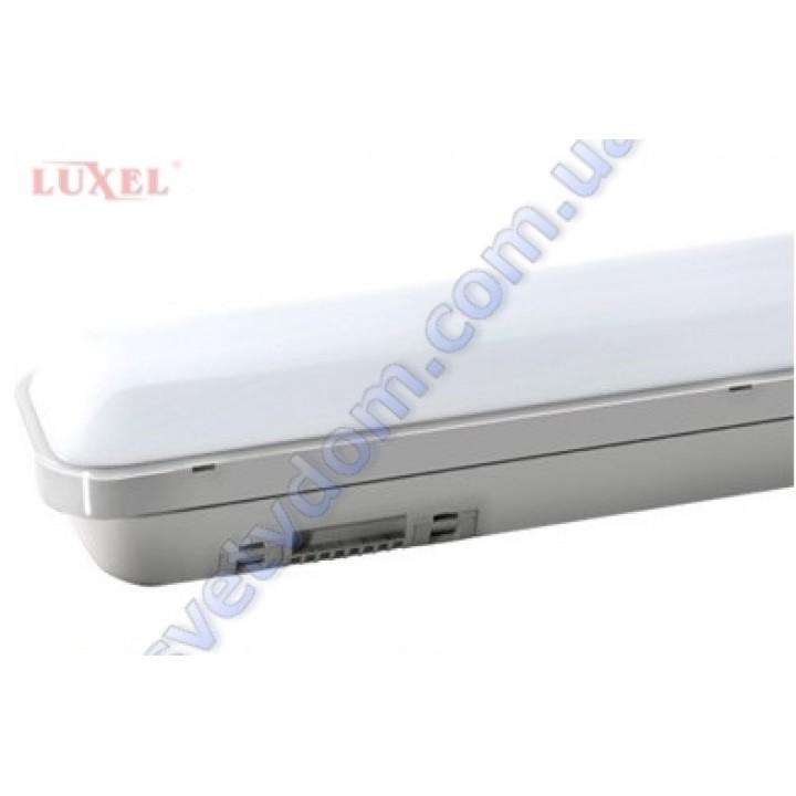 Світильник ПВЗ вуличний світлодіодний LED Luxel LX7001-1.2-36C 36W 6000K IP65 (аналог 250Вт)