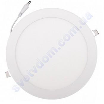 Світильник стельовий світлодіодний LED-панель Luxel DLR-6N 6W 4000K