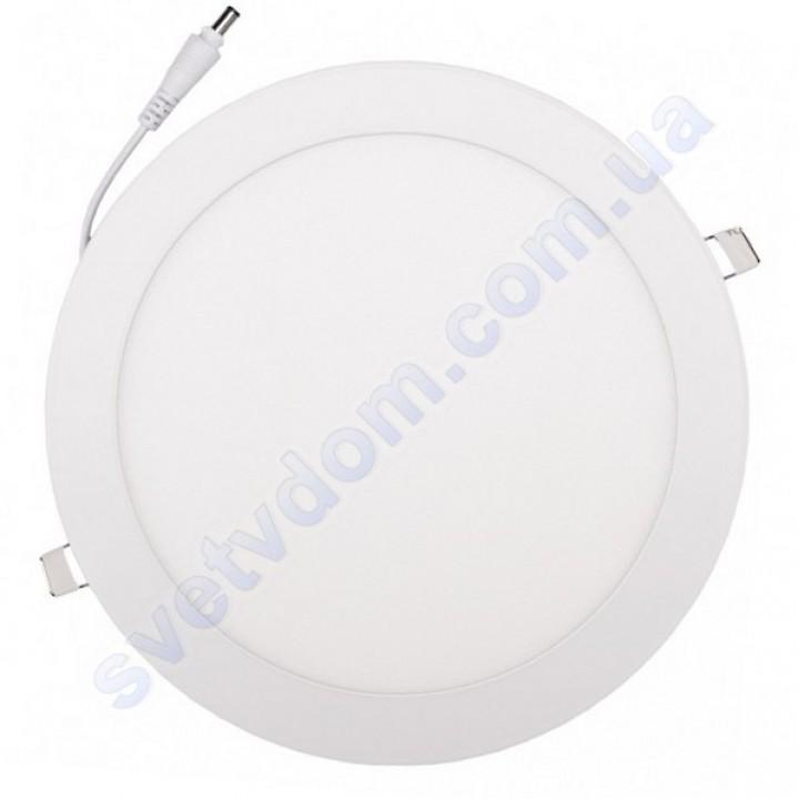 Светильник потолочный светодиодный LED-панель Luxel DLR-18N 18W 4000K