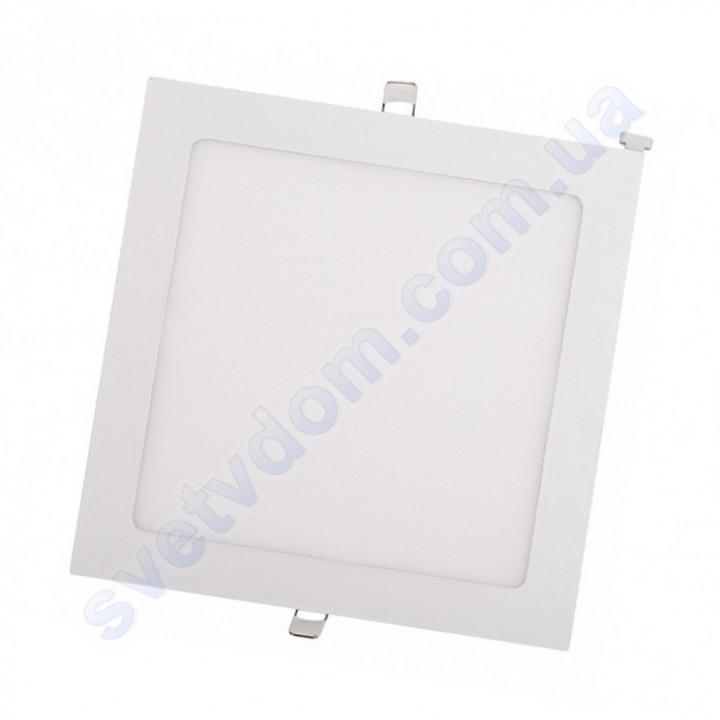 Светильник потолочный светодиодный LED-панель Luxel DLS-6N 6W 4000K