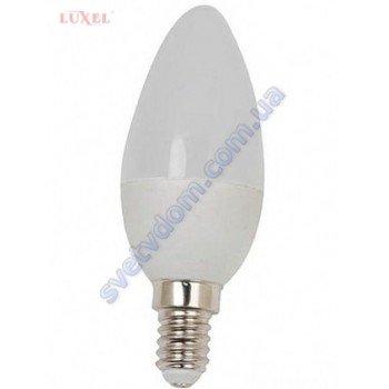 Лампа світлодіодна LUXEL LED 044-N 5W (аналог 45Вт) C37 4000K E14