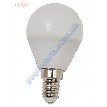 Лампа светодиодная LUXEL LED 056-NE 6W (аналог 50Вт) G45 4000K E14
