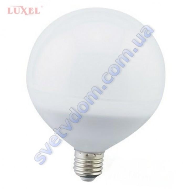 Лампа светодиодная LUXEL LED 052-N 11W (аналог 100Вт) G100 4000K E27