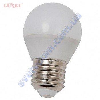 Лампа светодиодная LUXEL LED 057-NE 6W (аналог 50Вт) G45 4000K E27