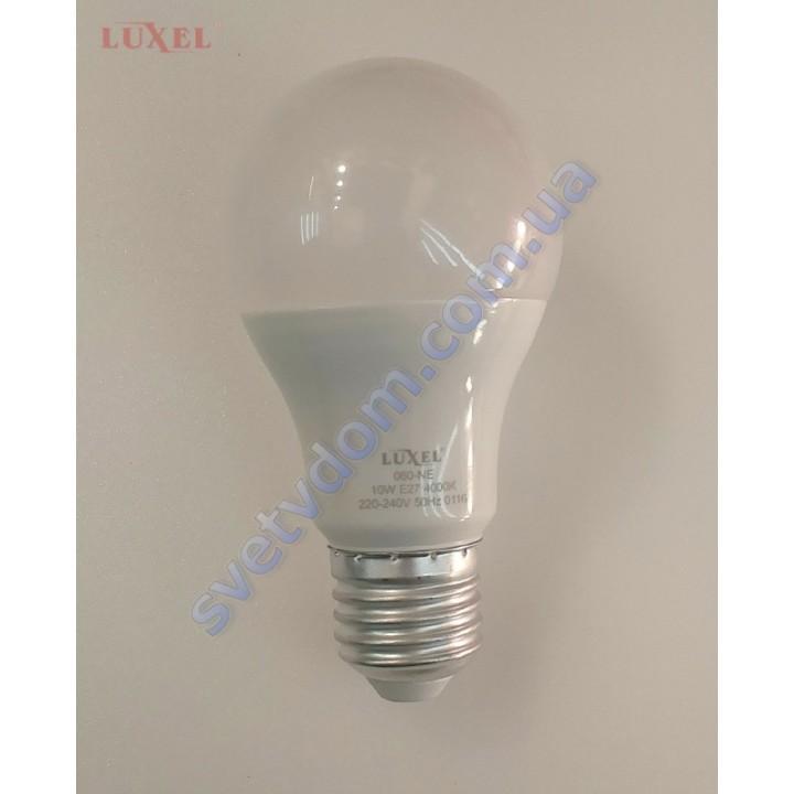 Лампа светодиодная LUXEL LED 060-NE 10W (аналог 75Вт) A60 4000K E27 ECO