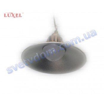 Светодиодный алюминиевый промышленный LED светильник купольный с радиатором LUXEL LHB-26C 26W 6400K
