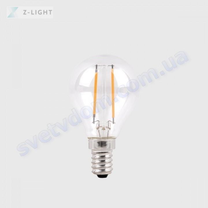Лампа светодиодная Z-Light ZL1011-E14 5W (аналог 40Вт) A45 4000K E14 FILAMENT