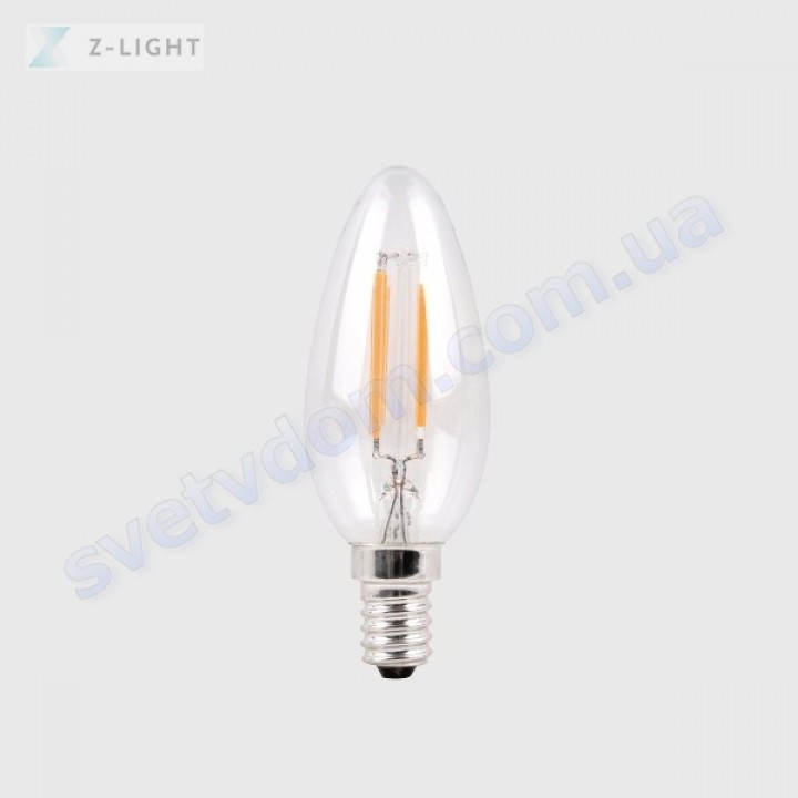 Лампа светодиодная Z-Light ZL1012-E14 5W (аналог 40Вт) C37 4000K E14 FILAMENT