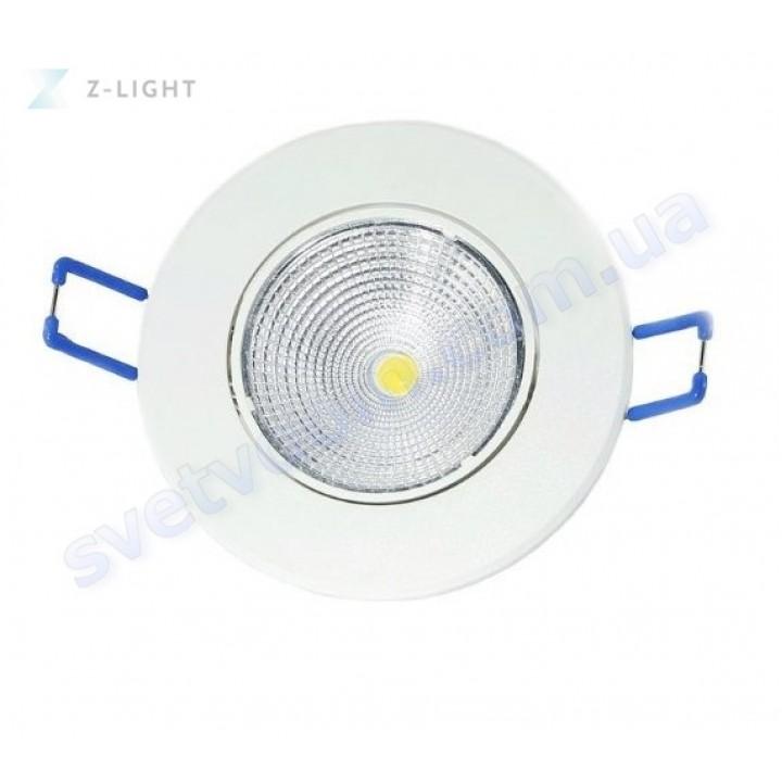 Світильник точковий світлодіодний LED Z-Light ZL2001 5W 4500K