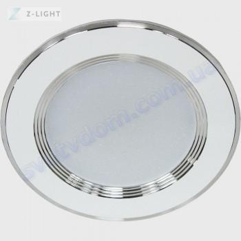 Світильник точковий світлодіодний LED Z-Light ZL2006-7W 7W 4500K чорний-білий-хром 260071