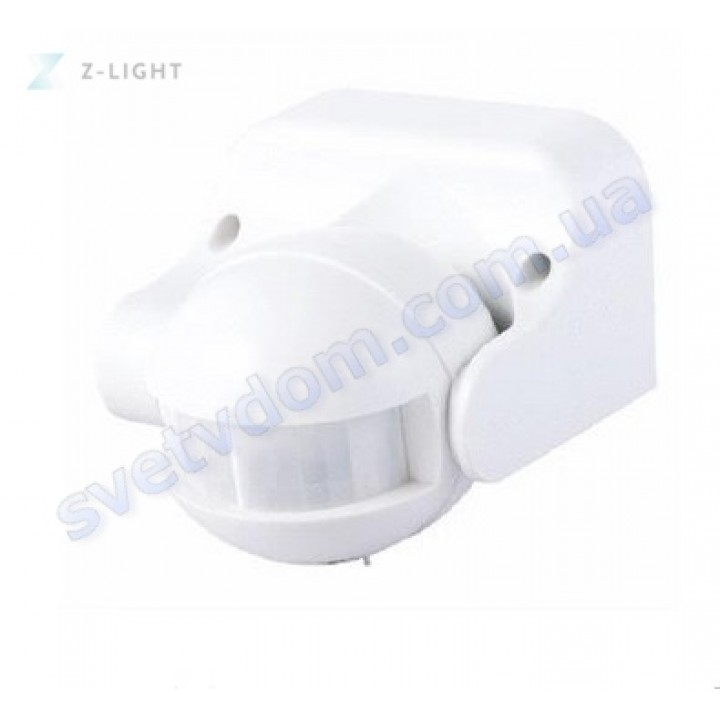 Датчик руху ZL8002 Z-Light 12м Білий-Чорний