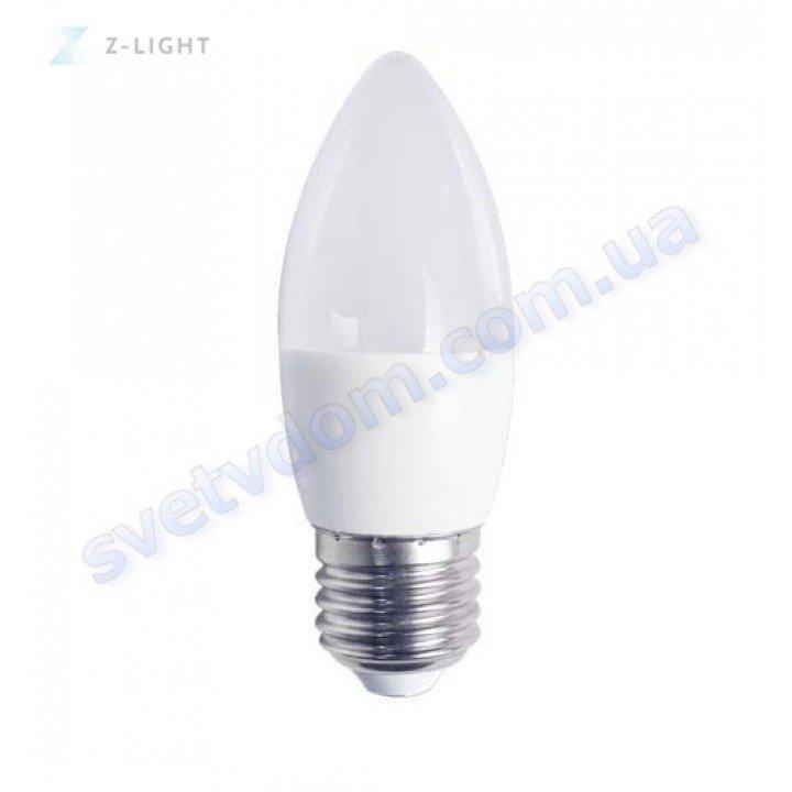 Лампа светодиодная Z-Light ZL1002-E27 8W (аналог 65Вт) C37 4000K E14