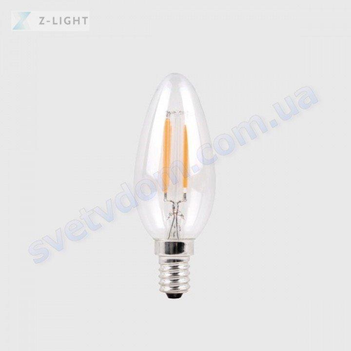 Лампа светодиодная Z-Light ZL1012-E14-H 5W (аналог 40Вт) C37 2700K E14 FILAMENT
