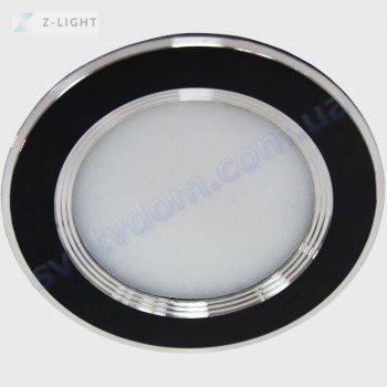 Світильник точковий світлодіодний LED Z-Light ZL2006-5W 5W 4500K чорний-білий-хром 260051