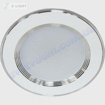 Светильник точечный светодиодный LED Z-Light ZL2006-7W 7W 4500K черный-белый-хром 260071