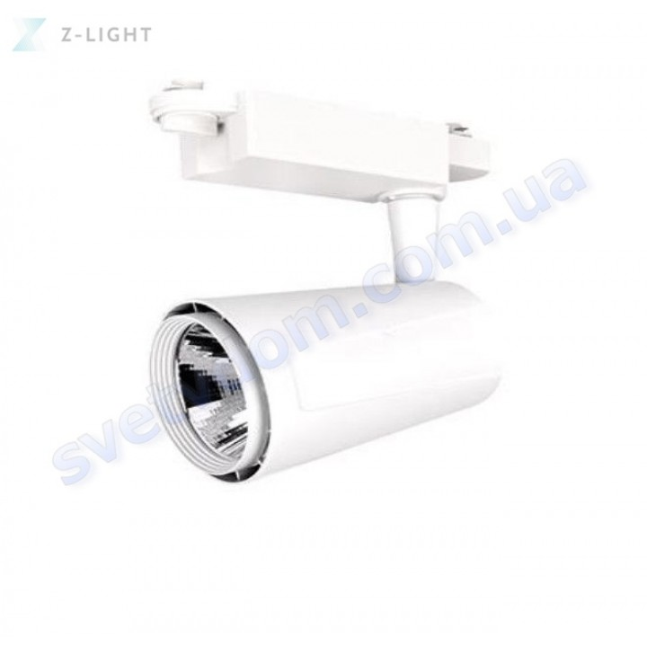 Світильник трековий світлодіодний TRACKLIGHT LED Z-Light ZL4009-30W 30W 4000K чорний-білий